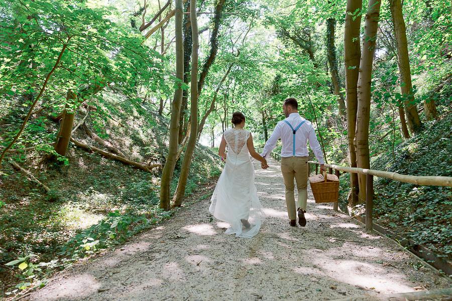 In Romantischer Zweisamkeit Heiraten Hochzeit Auf R 252 Gen